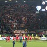 Ein intensiver @DFB_Pokal-Abend neigt sich allmählich dem Ende zu. Vielen Dank für eure großartige Unterstützung! https://t.co/8kaoAzPLgh