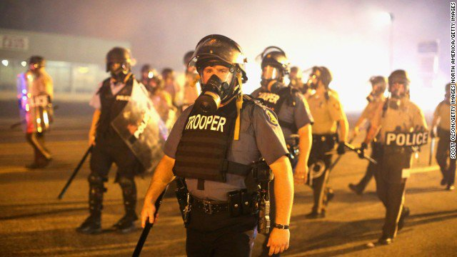 .@TheJusticeDept is suing city of Ferguson, Missouri, over police conduct.