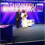Addressed valedictory session of ThinkEdu Conclave organized by The New Indian Express & Sastra university, Chennai. https://t.co/IQxgS7NpwZ