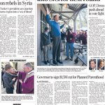 A look at Thursdays Toledo Blade front page: Kasich campaign moves on; governor to cut Planned Parenthood funding https://t.co/C9EQRHbJ4F
