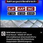 MufflerBaba,this opinion poll shows you cannot deceive simple people of Delhi!  Only INC gains! What a Fall for AAP? https://t.co/UG46Uz7gWD