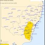 Severe Thunderstorm Warning Issued for Large Hail & Heavy Rain. https://t.co/o1siQxCAtT #NSWStorms https://t.co/hJVmtGvKv3