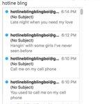 Hotline Bling lyrics fill @UMich student inboxes. https://t.co/nenOvI8aGB https://t.co/L7wr9dLA6N