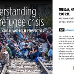 #WRTalk: Join us on March 15 @KitchLibrary to better understand the current refugee crisis: https://t.co/FP6mVZTolb https://t.co/xtnVgHWWkr