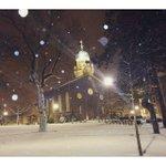 """""""UD looks even better in the snow."""" 📷: @jgomez3248 https://t.co/rjSb84KFbd"""