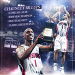 Congrats to Chauncey Billups on getting his jersey retired tonight in Detroit! #MrBigShot https://t.co/17wCZkWdr3