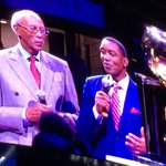 Dave Bing and Isiah Thomas honoring Chauncey Billups at the Palace. Impressive. https://t.co/uEARMM4UcQ