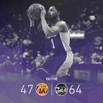 DAngelo Russell knocks down three triples in one quarter, but Cleveland still manages to increase its lead. https://t.co/N8V7ddAuFg