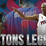 BIG. Congrats to our own Chauncey Billups, whose No. 1 jersey was raised into the Pistons rafters tonight. https://t.co/JfwYhIYjlY
