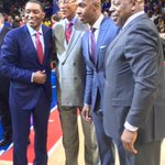 Some palace royalty on hand for Chauncey Billups jersey retirement ceremony. #pistons https://t.co/qECR7PJ2iX