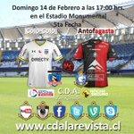 Domingo 14 de Febrero a las 17:00 horas en el Estadio Monumental @ColoColo - @ClubAntofagasta @ElGraficoChile https://t.co/4A2QoCKXDf