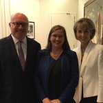 Very honoured to be appointed Australias new Sex Discrimination Commissioner w @SenatorCash & the Attorney General https://t.co/0r0ZsHRn4X