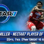 .@NectarSeven Player of the game goes to Patrick Miller! Finishes w 20pts/7reb/1ast. 💪  🎥: https://t.co/PA0KmbXv8x https://t.co/ywJJw2s8wM