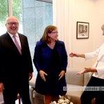 new sex discrimination commissioner @kate_jenkins_ meets an excited @SenatorCash & George Brandis @murpharoo https://t.co/jot1ksUBQt