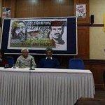 अफज़ल गुरु की शहादत कल दिल्ली के प्रेस क्लब में भी सेलिब्रेट हुई। देखिए अब कितने पत्रकार इसपे आवाज़ उठाते हैं! https://t.co/pN2quYseqC