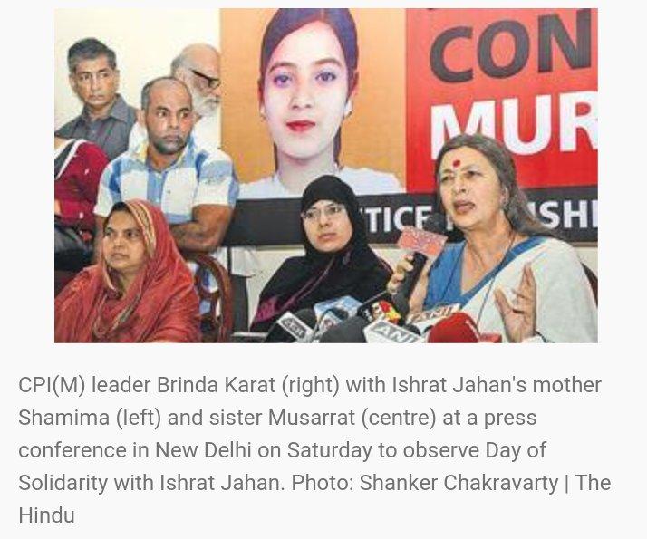 Big Bindi Brigade expressing solidarity with Ishrat Jahan. ;) https://t.co/1maupzq0cL