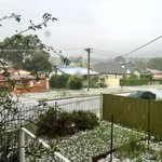 NEVER in my life have I seen a storm like it!!! Heard it coming #queanbeyan #Canberra https://t.co/BLEwvLWjdW