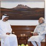 Crown Prince of Abu Dhabi, HH Sheikh Mohammed Bin Zayed Al Nahyan meeting PM Shri @narendramodi at 7 RCR, New Delhi https://t.co/sli6DmlfPr