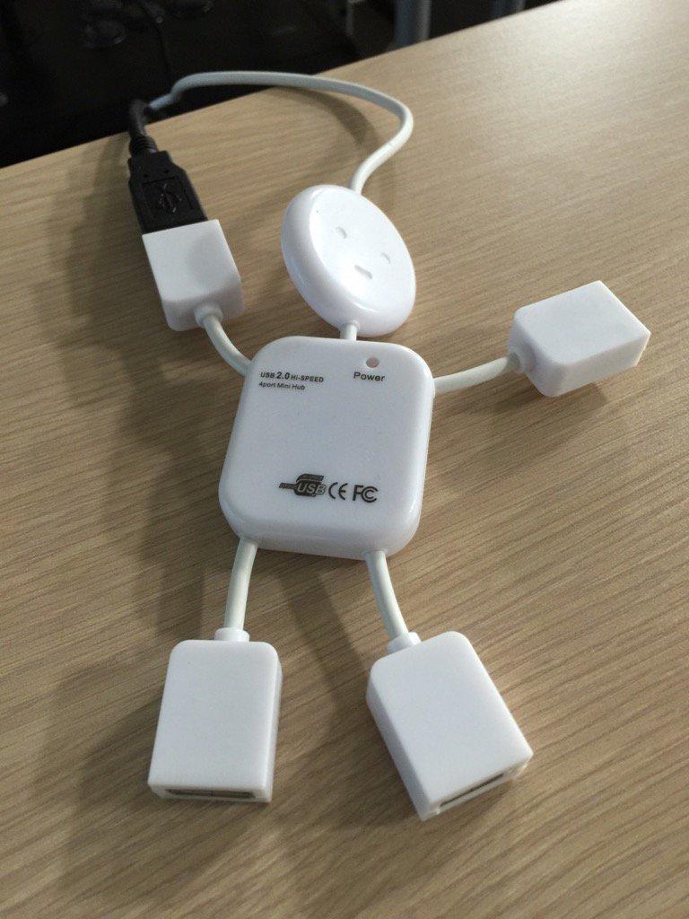 USBハブかわいい https://t.co/Sk1JZy2rVe