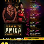 Who really wanna jam?? #JamWithAmina @moriahmayson and @EFYA_Nokturnal and win some cash https://t.co/OT51Ket2sd