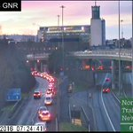 B1318 Great North Rd, delays and start stop traffic on the Onslip for the A167 CME merge Southbound #Newcastle https://t.co/itD7c7nRBW