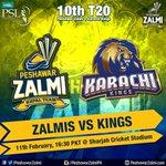 #Zalmis go up against #Kings today in the 10th T20 match of #HBLPSL! #AbKhelKeDikha #PhirHogaZalmiKaWaar https://t.co/14z8TzKJUj/s/sXJh