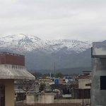 Margalla Hills Beauty. Snowfall :) Really amazing. #Islamabad https://t.co/DDrg82pQ66