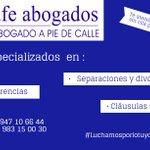 Luchamos por lo tuyo, Pensamos en ti. https://t.co/T9DJIW4oiY #Valladolid #abogado #luchamosporlotuyo https://t.co/Vlagf1ZDqs