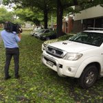 The SES is responding to 129 calls for help in Queanbeyan, mostly minor hail damage. Leaf litter coating streets. https://t.co/oUSeLXPTpw