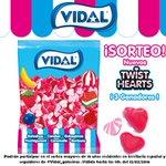 ¡Sorteo San Valentín! Para participar haz RT y sigue a @Vidal_Golosinas. ¡3 bolsas de los nuevos Corazones Twist! ;) https://t.co/C5d97CaoNU