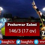 Peshawar Zalmi:146/3 (17 ov). For live streaming and updates Visit https://t.co/L8IKLqd843 https://t.co/3jneQHD7Z6 https://t.co/5tFToThW7z