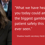 Heidi Alexander responds to Jeremy Hunts statement on Junior Doctors contracts #juniorcontract https://t.co/oq46GhSWEH
