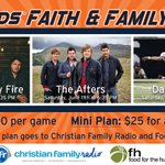 Today we announce our three Faith and Family Night dates, including the performers for all three nights! #FanDriven https://t.co/kQpkjz2jzm