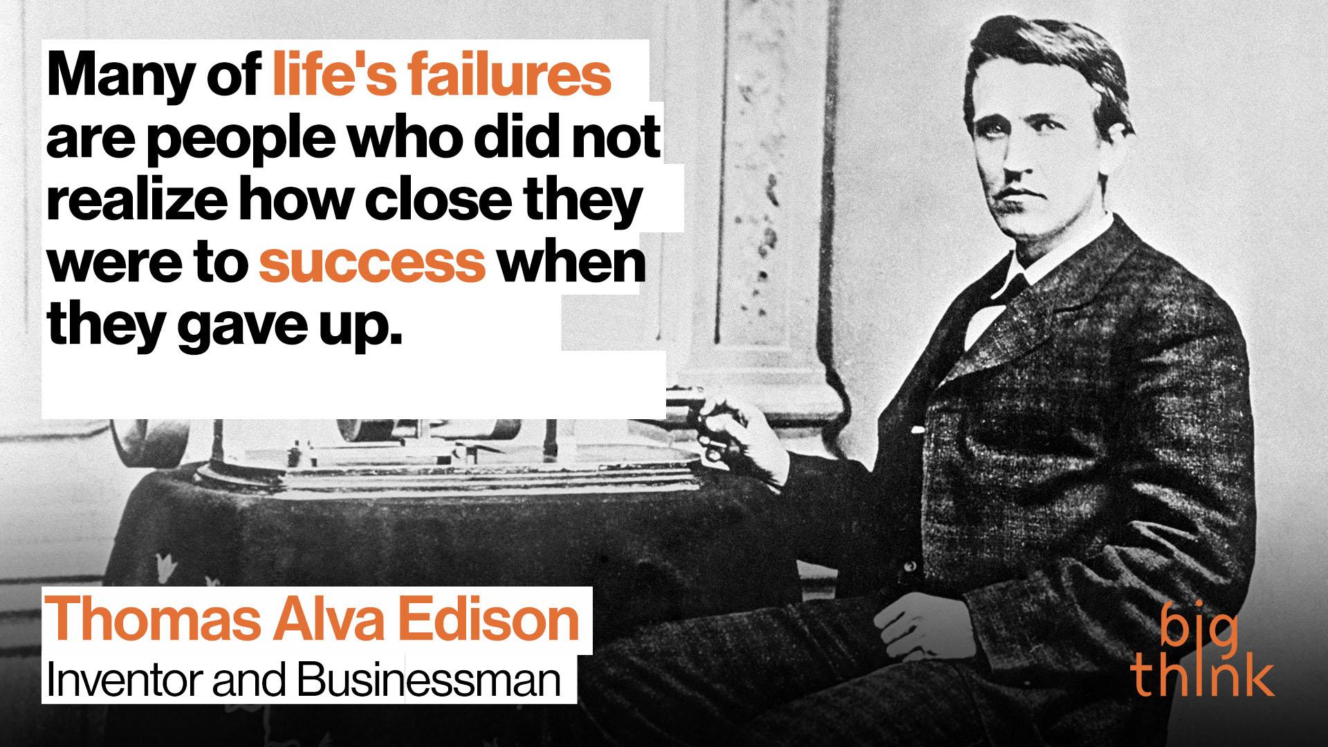 Happy birthday, Thomas Edison! The Wizard of Menlo Park was a #BigThinker https://t.co/Gi1KSOfAlr