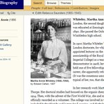 Historical #WomenInSTEM: @odnb has biographies of 540+ women in science, medicine & technology, 12th to 21st cent. https://t.co/BJ5AIe2xLg