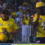 Super Stars of -@PeshawarZalmi ! Shahid Afridi and Darren Sammy. #RiseZalmiRise https://t.co/Sew2gSgTAE