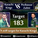 Live update #HBLPSL #KarachiKings #PeshawarZalmi https://t.co/KuIz3BVHHE https://t.co/M3wTgnjKC1