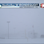 Some heavy snow in Irondequoit at 820am from our WxBug cam. https://t.co/B788GIcgQl