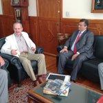 Governador @FlavioDino,vice @carlosbrandaoma e deputados, são recebidos pelo Ministro @aldorebelo em Brasília https://t.co/uZjGmOx7vO