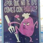 .Campaña a favor de la limpieza y la convivencia higiénica #Alicante #Publicidad agresiva Ciudad de #Alicante https://t.co/8BcyGL3r6j