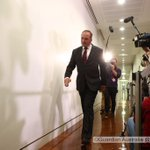 Barnaby arrives for the Nats party room meeting @murpharoo @GuardianAus we are still running on #politicslive https://t.co/fKkztq4ZDm