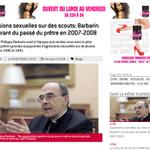 Une pub pour un club de strip tease autour dun article sur le cardinal Barbarin sur @Le_Progres #Lyon https://t.co/X6vGmXN5pI