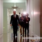 Barnaby has a camera crew in tow @murpharoo @GuardianAus #politicslibe https://t.co/BMcujF6VPG