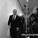 Barnaby Joyce arriving for the Nationals Party Leadership Ballot at Parliament House in Canberra. #auspol https://t.co/2bVahrQMlX