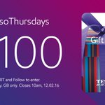 Cheer up, its #EssoThursdays! RT & FLW for your chance to win a £100 Tesco voucher. T&Cs: https://t.co/EcQP7tKol8 https://t.co/HXYW6CNcPf