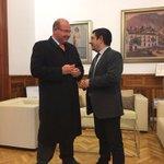 El alcalde de Jaén y el presidente de la Diputación se reúnen para tratar temas comunes para el bien de la ciudad¡ https://t.co/fYXXmPg8wr