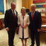Congratulations @Barnaby_Joyce & @SenatorNash Leader & Deputy Leader of the Nationals! https://t.co/GyIqpmMZv5