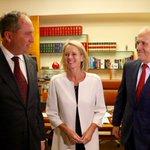 The PM, his Deputy and his deputys deputy #auspol @abcnews @ABCNews24 https://t.co/FzPEgVYWgN
