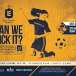Brilliant opportunity for #London girls #football teams to compete in a free tournament this Easter break @ELL_FC14 https://t.co/OMNkVVwemY