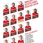 Wales named unchanged team to face @Scotlandteam Dan Biggar is fit to start. @JonFoxDavies wins 50th cap #IamWales https://t.co/Y1DrOCdLN0